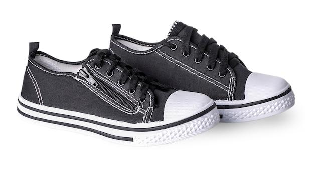Conveniente per sneaker sportive da uomo in tessuto spesso scuro