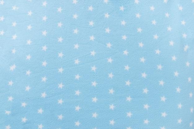 Coperta blu a forma di stella