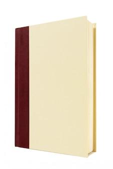 Copertina rigida libro in piedi in posizione verticale