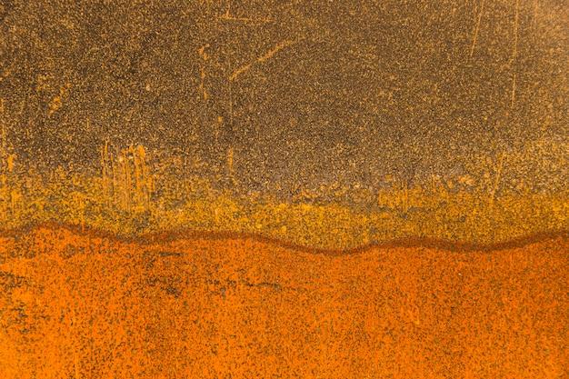Copia spazio degrada sfumature arancioni
