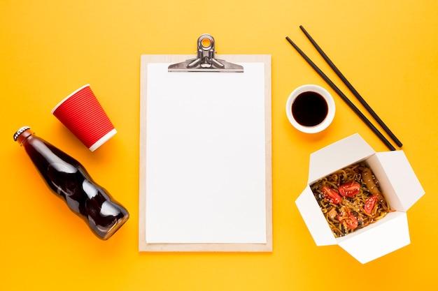 Copia spazio negli appunti con fast food