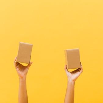 Copia-spazio piccoli pacchetti