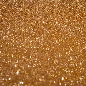 Copia spazio scintillante sfondo oro