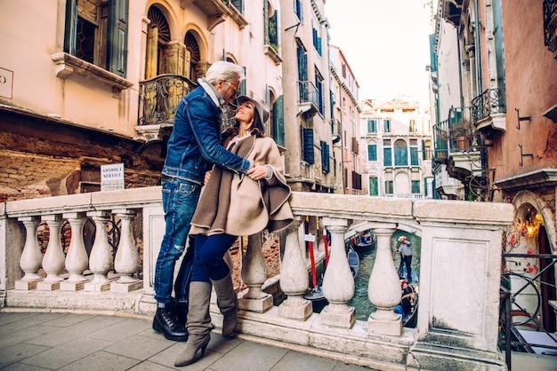 Coppia a venezia