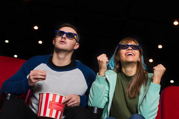 Coppia al cinema