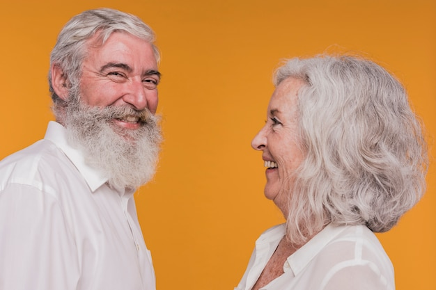 Coppia di anziani
