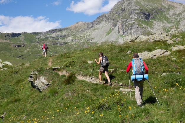 Coppia di escursionisti