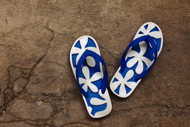 Coppia di pantofole