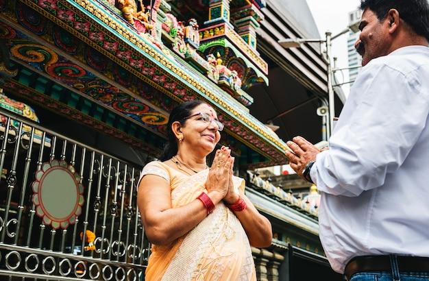 Coppia indiana trascorrere del tempo insieme