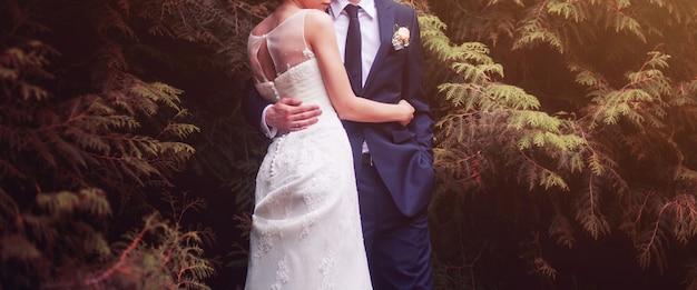 Coppia nel giorno del matrimonio