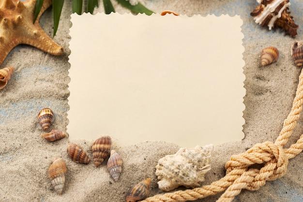 Corda nautica in sabbia