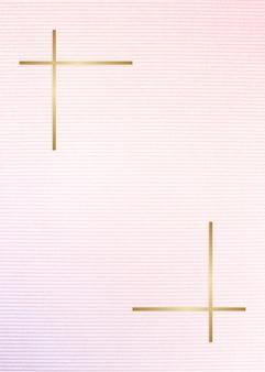 Cornice in tessuto con motivi geometrici