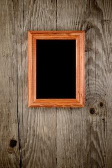 Cornice per foto su legno vecchio