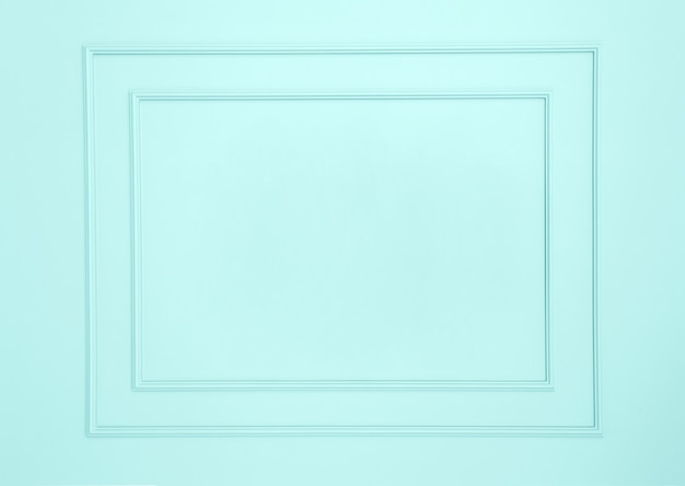 Cornici vuote sul muro bianco