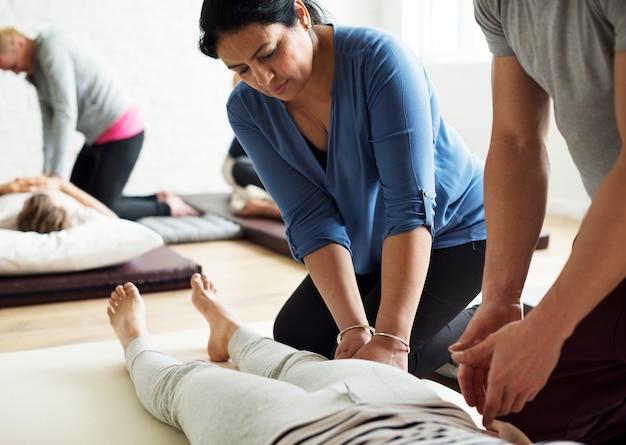 Corso di formazione di gruppo di terapia di massaggio