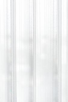 Cortina bianca traslucida