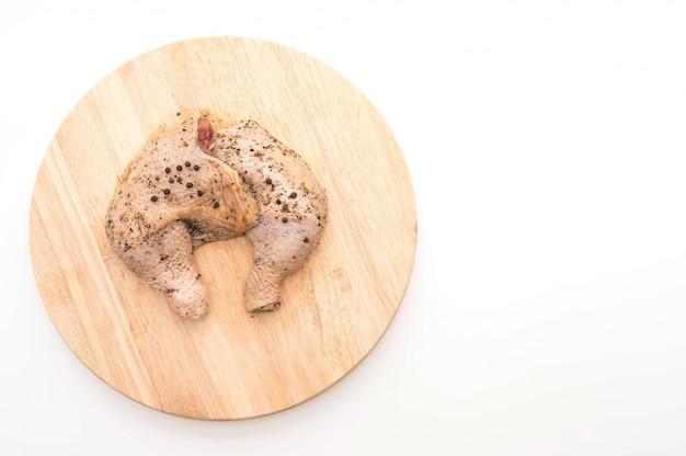 Coscia di pollo marinata