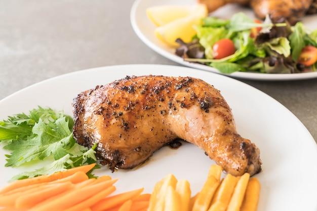 Coscia pollo bistecca