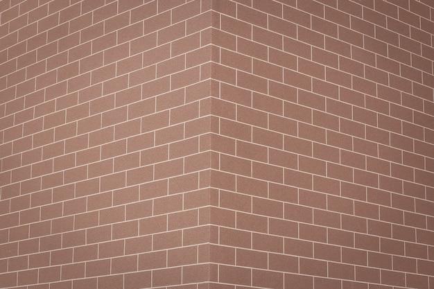 Costruire il muro di mattoni rossi di texture per nuovo ideale