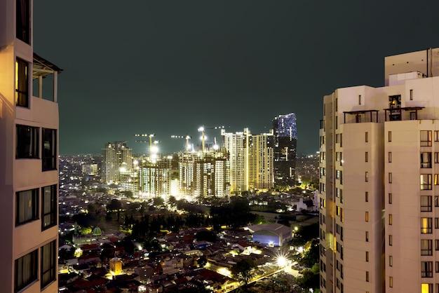 Costruzione vista nel centro della città
