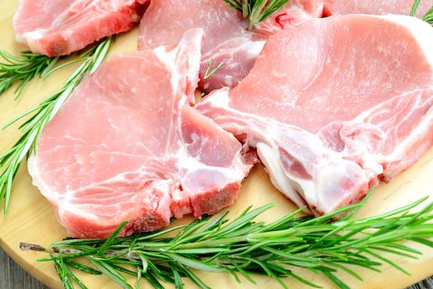 Cotolette di maiale
