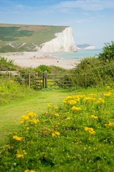 Cottages & 7 seven sisters, brighton, inghilterra