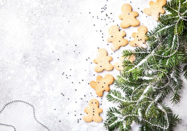Cottura tradizionale di natale. concetto di nuovo anno