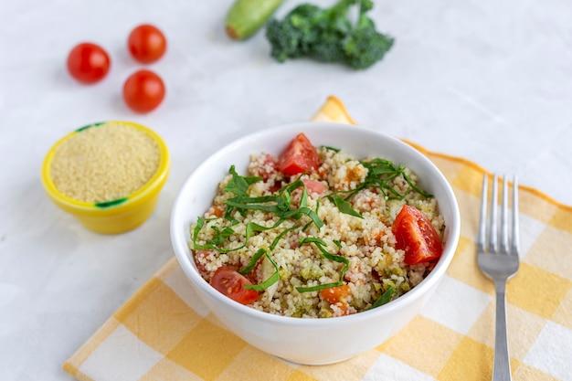 Couscous vegetariano fatto in casa