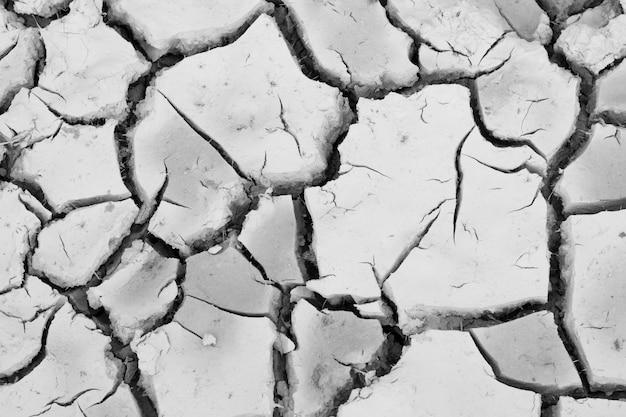Crack suolo sulla stagione secca, effetto worming globale.