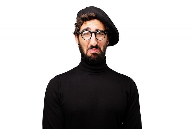 Creativo francese nessun tipo uomo