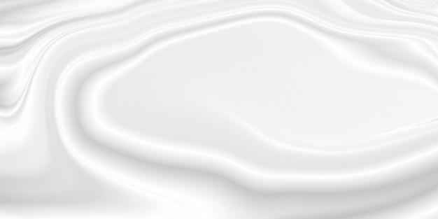 Crema cosmetica bianca o sfondo di lozione per il corpo