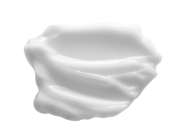 Crema cosmetica bianca