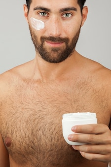Crema viso maschile