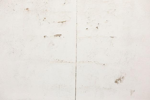 Crepe e macchie sulla superficie del calcestruzzo