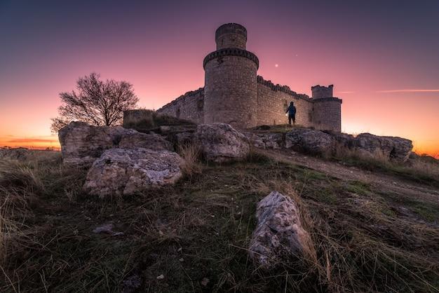 Crepuscolo nel castello