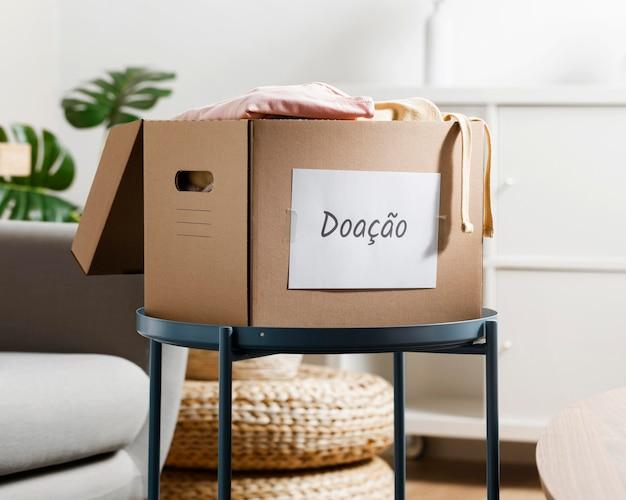 Cris economy con scatola per donazioni