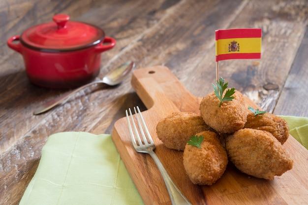 Crocchetta tipica spagnola