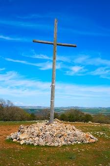 Croce di cruz de atapuerca in saint james way