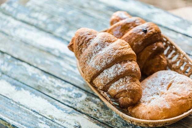Croissant e pane