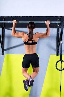 Crossfit dita dei piedi per bloccare l'allenamento con le maglie da donna