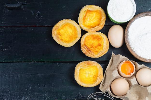 Crostata all'uovo, dolce tradizionale portoghese
