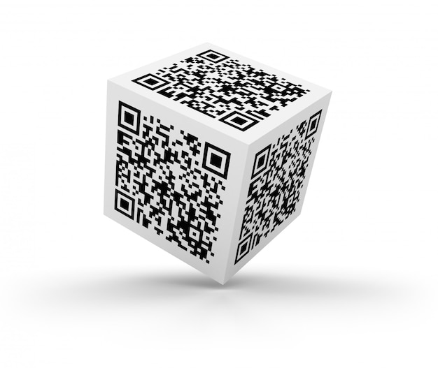Cubo di codice qr