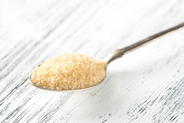 Cucchiaio di zucchero di canna