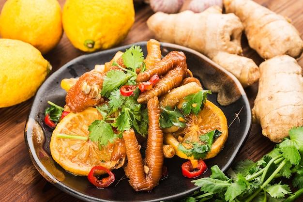 Cucina casalinga: ali di pollo fresche al limone,