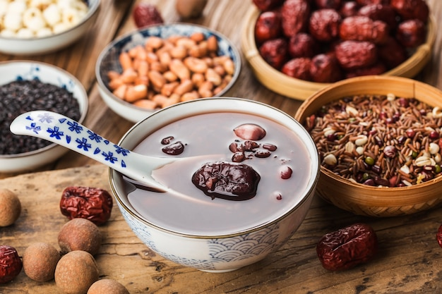Cucina cinese settentrionale, porridge di laba, otto porridge al tesoro