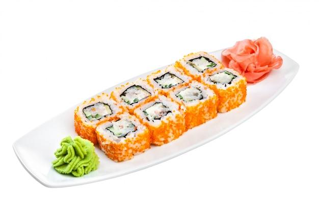 Cucina giapponese - sushi (california roll)