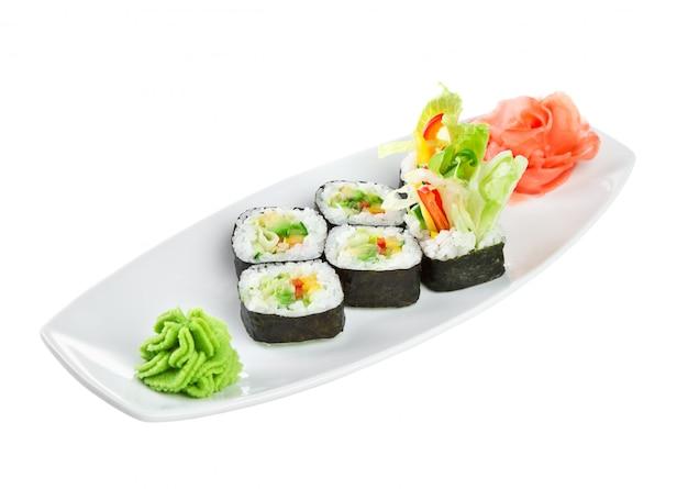 Cucina giapponese - sushi (yasai roll)