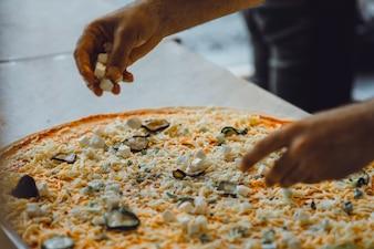 Cucina grande pizza