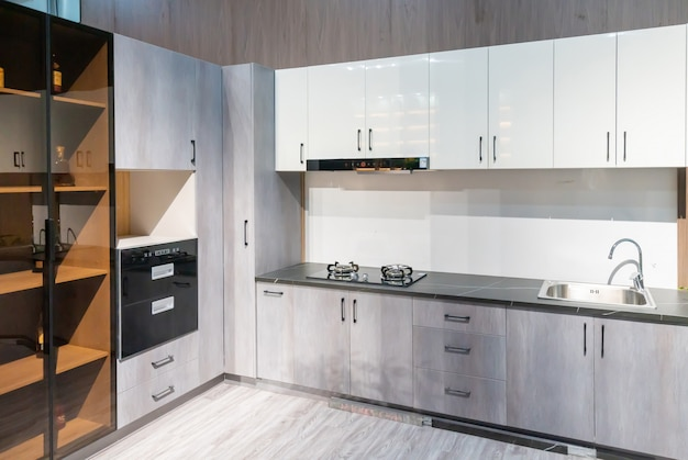 Cucina in stile moderno, design del mobile