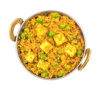 Cucina indiana Mattar Paneer Food
